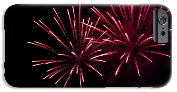 Fourth Of July iPhone Cases - Fireworks over the Bosphorus No. 7 iPhone Case by Harold Bonacquist