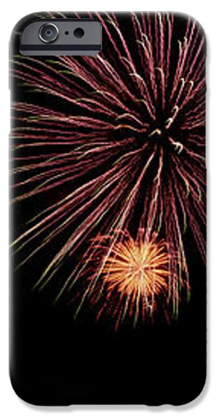 Fireworks Panorama iPhone Case by Bill Cannon
