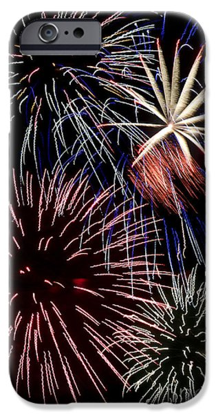 Fireworks Spectacular iPhone Case by Jim and Emily Bush