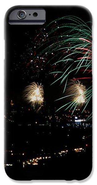 fireworks iPhone Case by Stanlerd Rodriguez