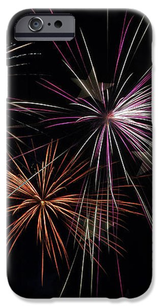 Fireworks With Pride iPhone Case by Christina Rollo