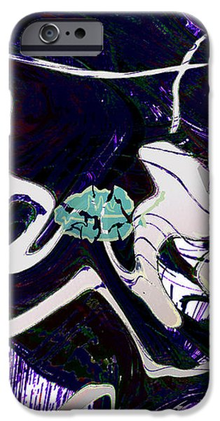 FIRMAMENT CRACKED #11 Tapestry of Pain iPhone Case by Mathilde Vhargon
