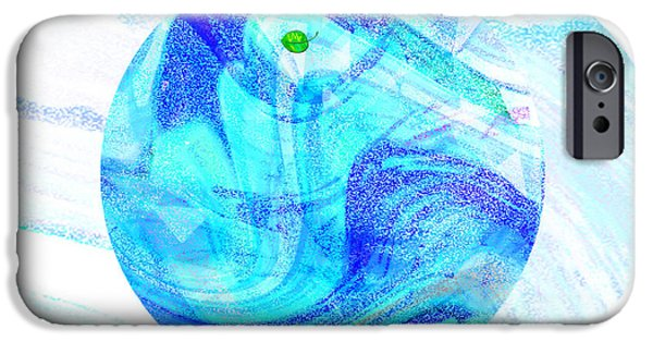 Discrimination Digital iPhone Cases - FIRMAMENT CRACKED #7 - Beautiful Illusion iPhone Case by Mathilde Vhargon