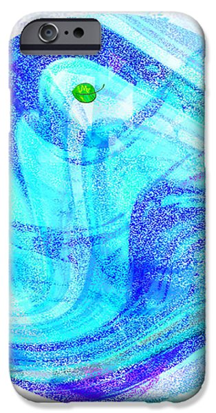 FIRMAMENT CRACKED #7 - Beautiful Illusion iPhone Case by Mathilde Vhargon