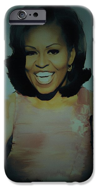 First Lady iPhone Case by BRIAN REAVES