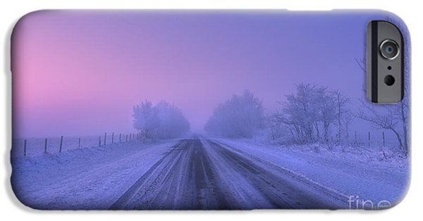 Winter Mornings iPhone Cases - First Light iPhone Case by Dan Jurak