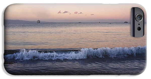 First Light On Ma'alaea Bay iPhone Case by Trever Miller