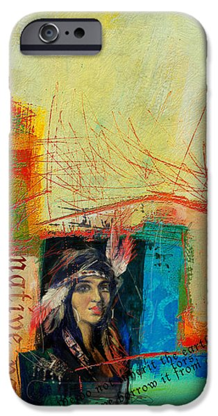 Confederacy iPhone Cases - First Nations 10B iPhone Case by Corporate Art Task Force