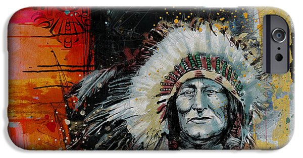 Nation iPhone Cases - First Nations 11 iPhone Case by Corporate Art Task Force