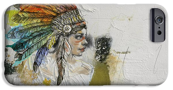 Confederacy iPhone Cases - First Nations 17 iPhone Case by Corporate Art Task Force