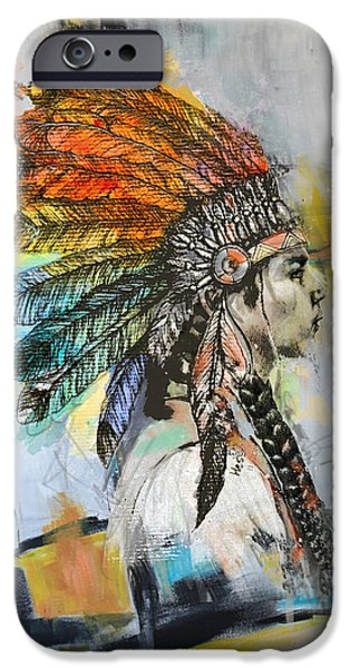 Nation iPhone Cases - First Nations 26B iPhone Case by Corporate Art Task Force