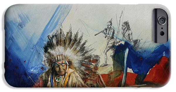 Nation iPhone Cases - First Nations 30 iPhone Case by Corporate Art Task Force