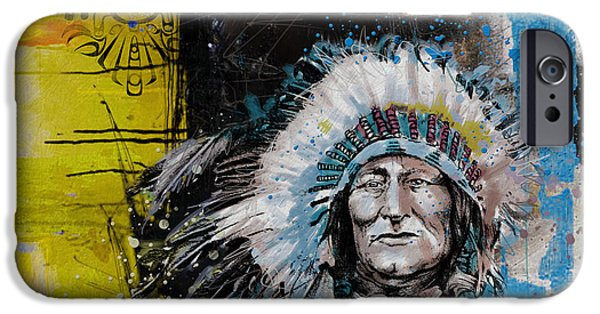 Nation iPhone Cases - First Nations 33 iPhone Case by Corporate Art Task Force