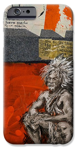 Nation iPhone Cases - First Nations 36 iPhone Case by Corporate Art Task Force