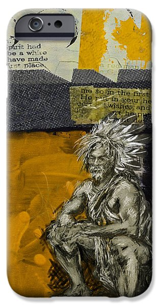 Nation iPhone Cases - First Nations 37 iPhone Case by Corporate Art Task Force