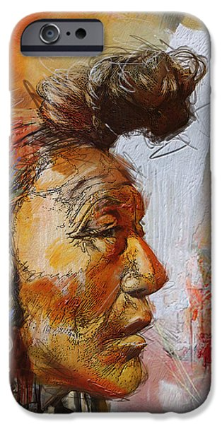 Confederacy iPhone Cases - First Nations 4 iPhone Case by Corporate Art Task Force