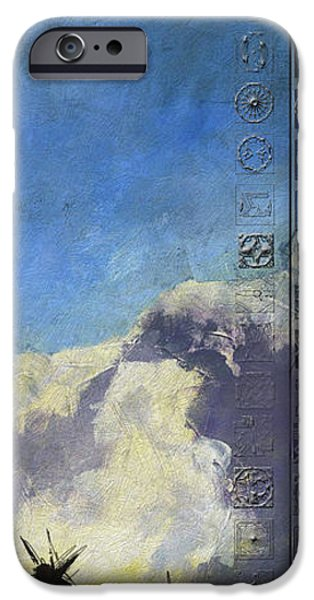 Confederacy iPhone Cases - First Nations 44 iPhone Case by Corporate Art Task Force
