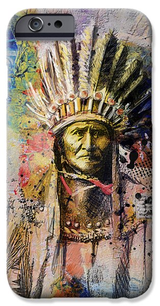 Nation iPhone Cases - First Nations 6 iPhone Case by Corporate Art Task Force