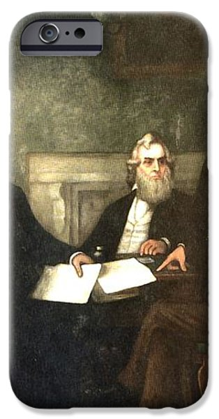 First Reading of the Emancipation Proclamation of President Lincoln iPhone Case by Nomad Art And  Design