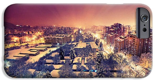 Snow iPhone Cases - First Snow iPhone Case by Ivan Vukelic