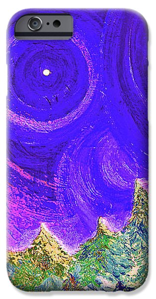 First Star Sunrise iPhone Case by First Star Art