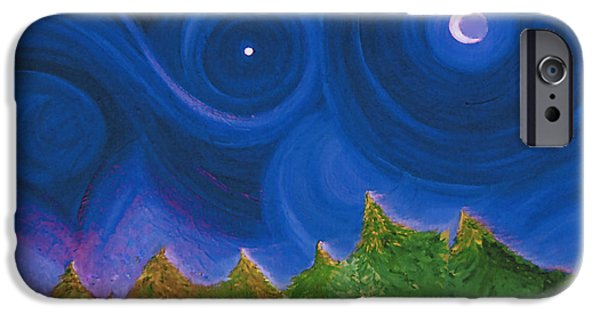 Star Of Bethlehem iPhone Cases - First Star Wish by jrr iPhone Case by First Star Art