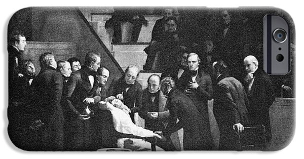 Recently Sold -  - Boston iPhone Cases - First Use Of General Anesthesia, 1846 iPhone Case by Spl