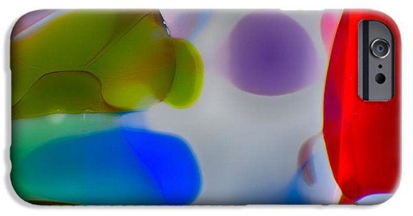Fine Abstract Glass iPhone Cases - Fish Commuting iPhone Case by Omaste Witkowski