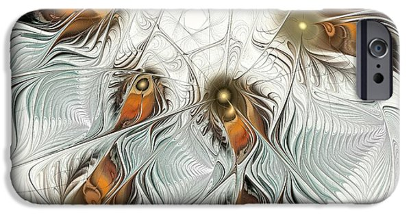 Shape iPhone Cases - Fish Dance iPhone Case by Anastasiya Malakhova