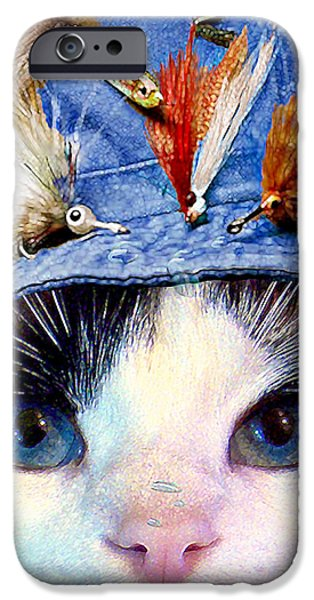 American Shorthair iPhone Cases - Fisher Cat iPhone Case by Michele  Avanti