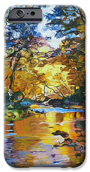 Fisherman's Dream iPhone Case by Kenneth Young