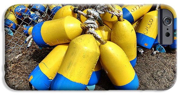 Crabbing iPhone Cases - Hidden Minions iPhone Case by Cheryl Young