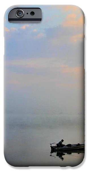 Fisherman's Solitude In Ohio iPhone Case by Dan Sproul