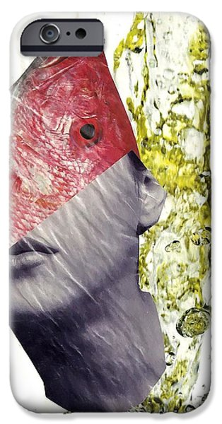 FishHead iPhone Case by Sarah Loft