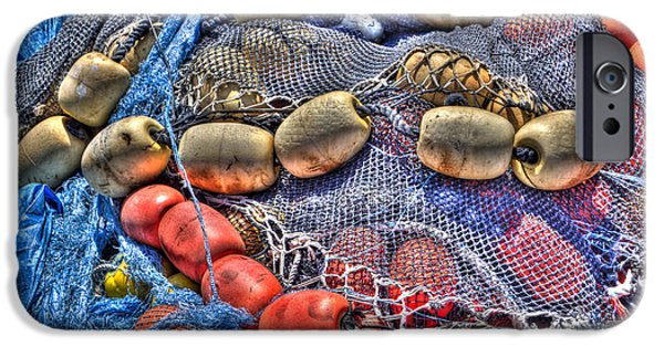 Bouys iPhone Cases - Fishing Gear iPhone Case by Heidi Smith