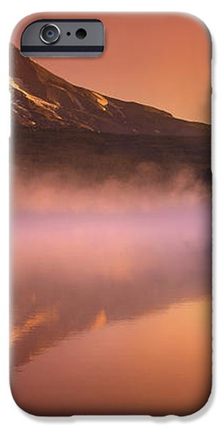 Fishing in the Fog iPhone Case by Lori Grimmett