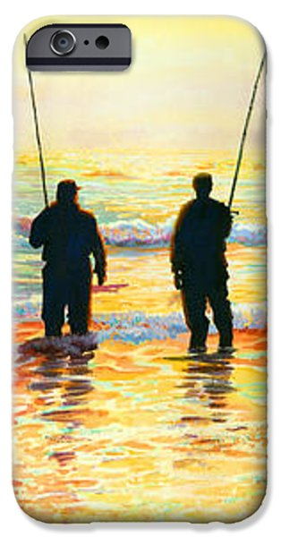 Fishing Line iPhone Case by Marguerite Chadwick-Juner