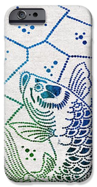 Fishing Net iPhone Case by Aged Pixel