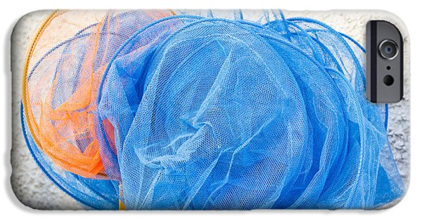 Toy Shop iPhone Cases - Fishing nets iPhone Case by Tom Gowanlock