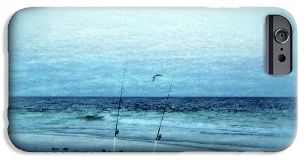 Panama City Beach Photographs iPhone Cases - Fishing iPhone Case by Sandy Keeton