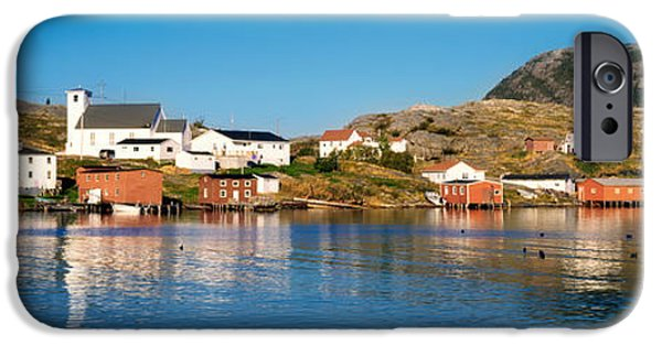 Built Structure iPhone Cases - Fishing Village On An Island, Salvage iPhone Case by Panoramic Images