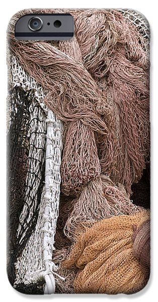 Fishnets iPhone Case by Frank Tschakert