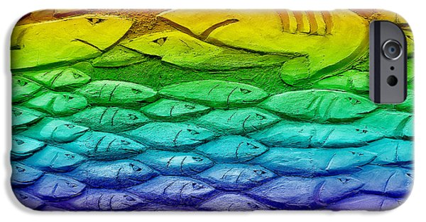 Chip iPhone Cases - Fishy iPhone Case by Neil Finnemore