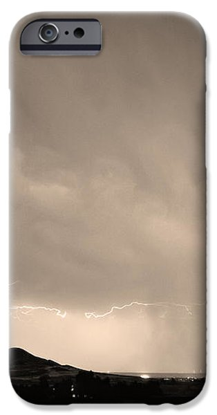 Fist Bump of Power Sepia iPhone Case by James BO  Insogna