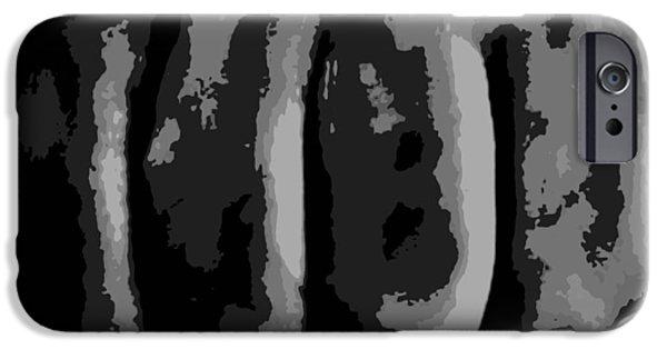 Ufc Digital iPhone Cases - Fist iPhone Case by James Davis