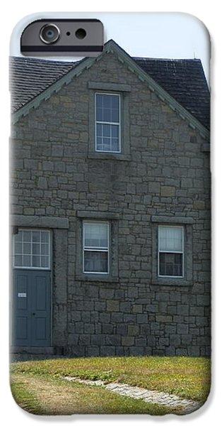 Fitz Hugh Lane House iPhone Case by Valerie Bruno