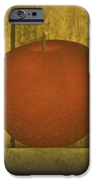 Five Apples  iPhone Case by David Dehner