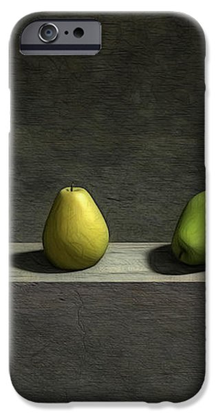 Five Pears iPhone Case by Cynthia Decker