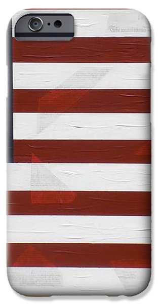 Flag - Declaration iPhone Case by Kelvin Kelley