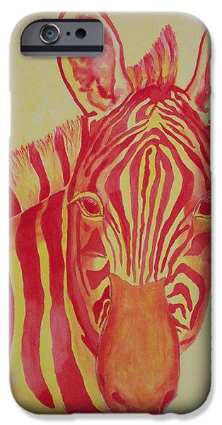 Flame iPhone Case by Rhonda Leonard